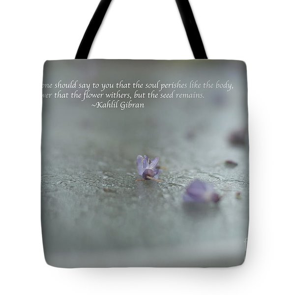 The Seed Tote Bag by Barbara Shallue