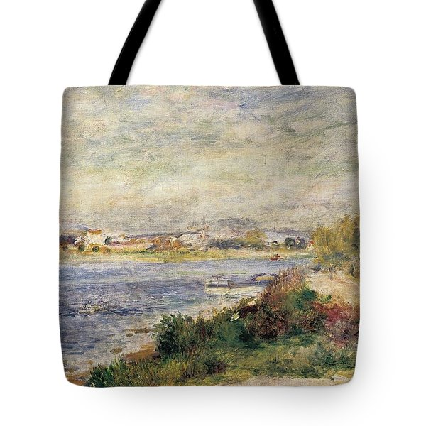 The Seine In Argenteuil Tote Bag