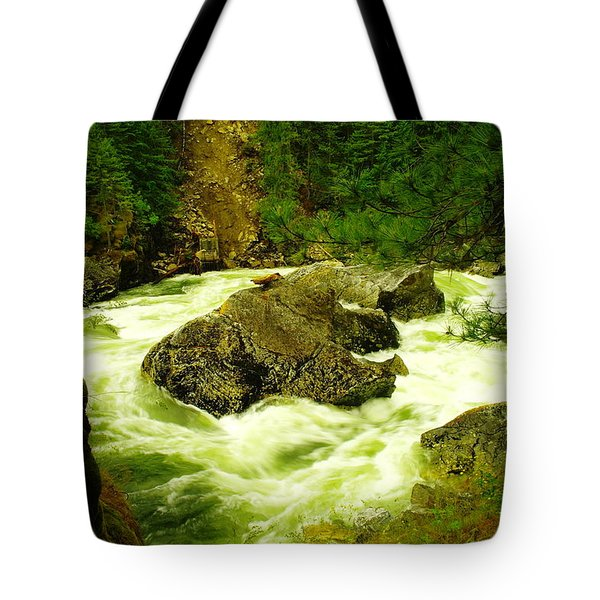 The Selway River Tote Bag by Jeff Swan
