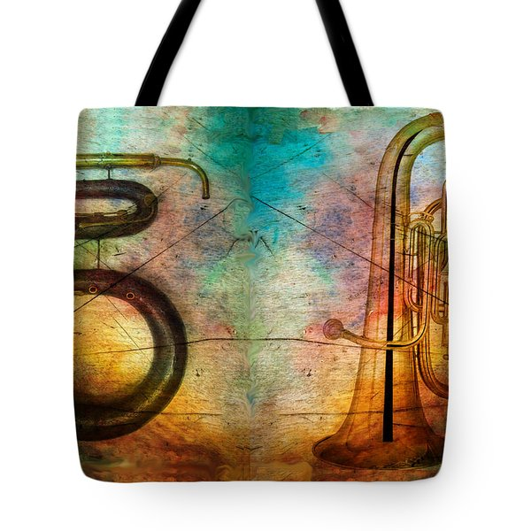 The Serpent And Euphonium -  Featured In Spectacular Artworks Tote Bag