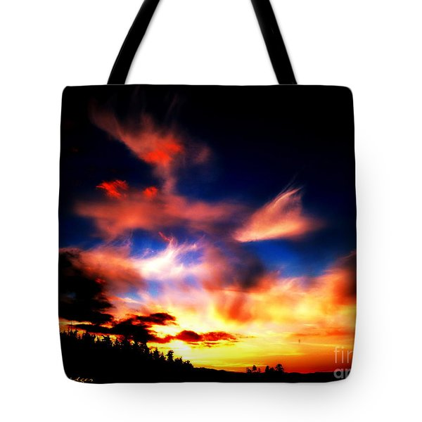 The Setting Sun Tote Bag