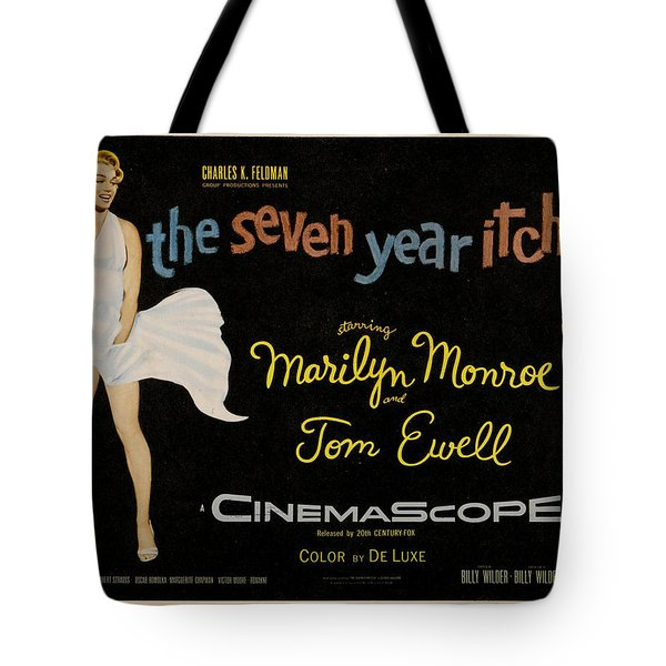 The Seven Year Itch Tote Bag