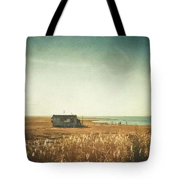 The Shack - Lbi Tote Bag by Colleen Kammerer