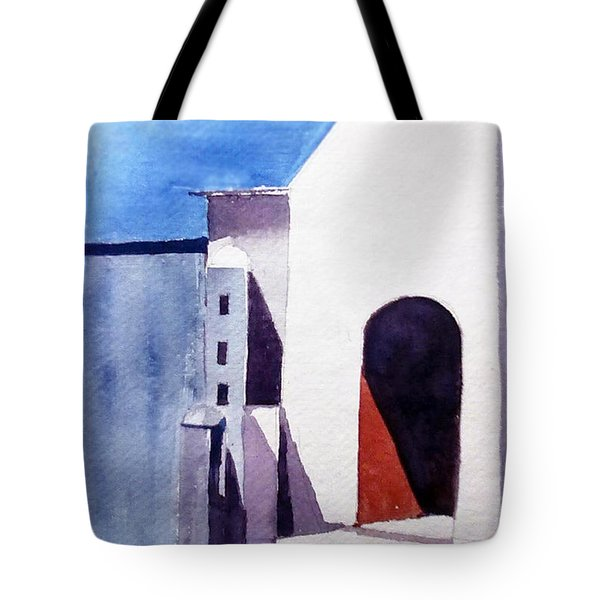 The Shadow Play Tote Bag