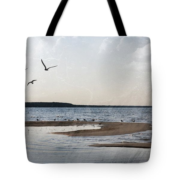 The Shallows At Whitefish Bay Tote Bag