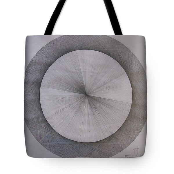 The Shape Of Pi Tote Bag by Jason Padgett