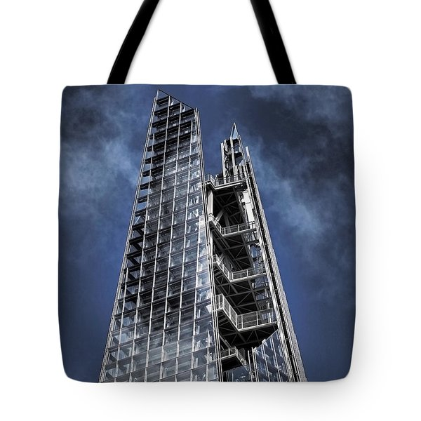 The Shards Of The Shard Tote Bag by Rona Black