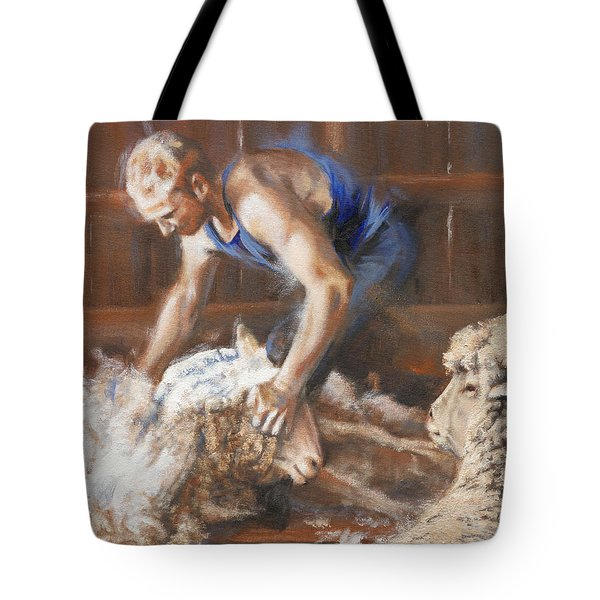 The Shearing Tote Bag by Mia DeLode