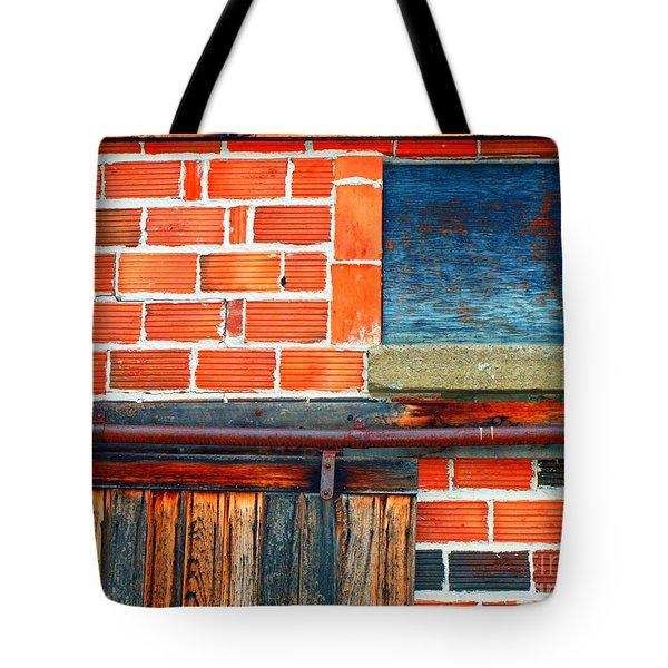 The Shed Tote Bag by Tara Turner