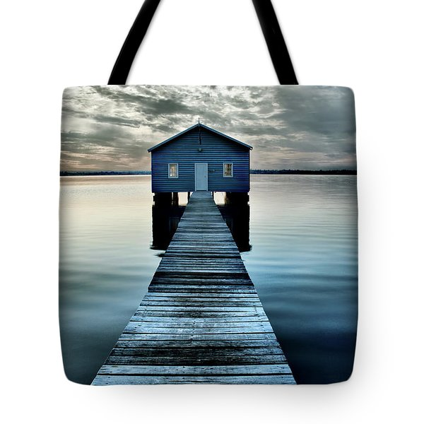 The Shed Upon The Water Tote Bag