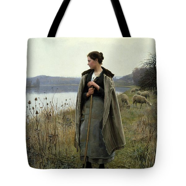 The Shepherdess Of Rolleboise Tote Bag