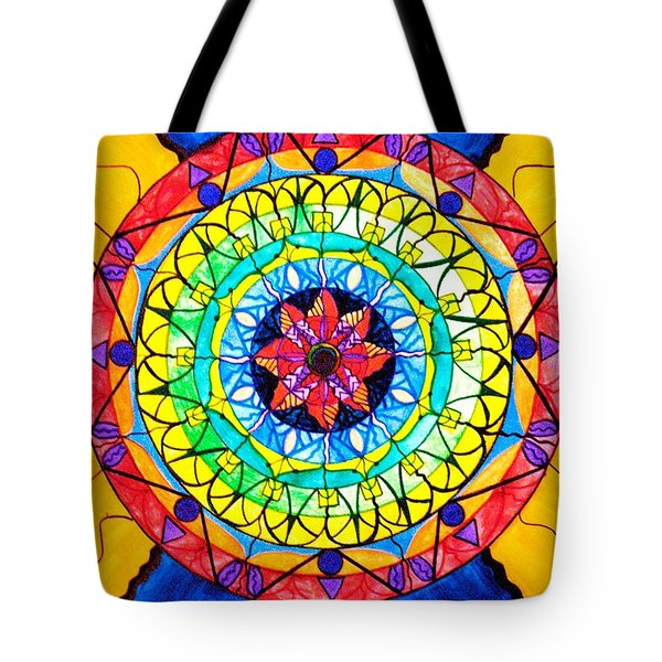 The Shift Tote Bag by Teal Eye  Print Store