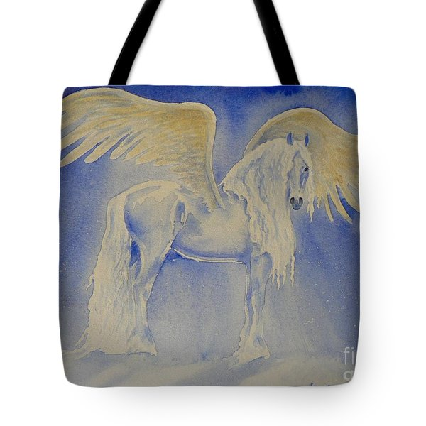 The Shining Tote Bag by Louise Green