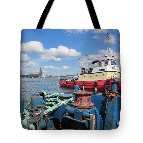 The Shipyard Tote Bag