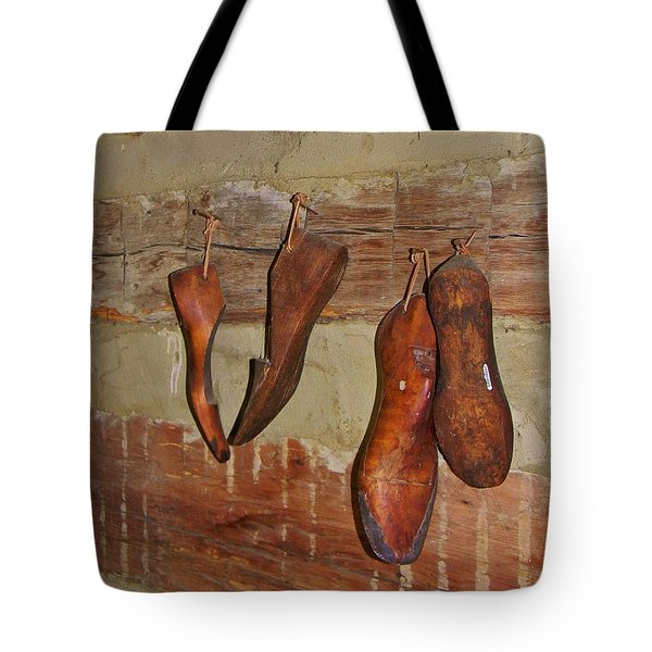 The Shoemaker Tote Bag by Jean Goodwin Brooks