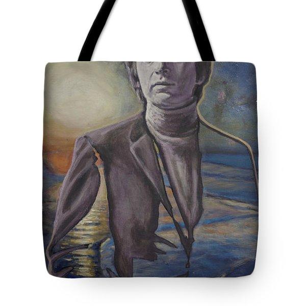 The Shore Of The Cosmic Ocean Tote Bag