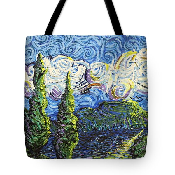 The Shores Of Dreams Tote Bag
