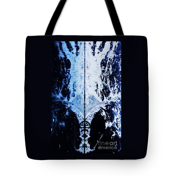 The Shroud Of Glacier Bay Tote Bag by Marcus Dagan