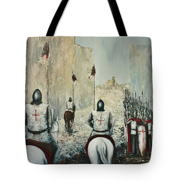 The Siege Of Ascalon Tote Bag