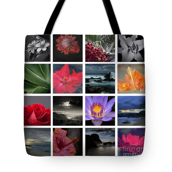 The Silence Of Time Tote Bag by Sharon Mau
