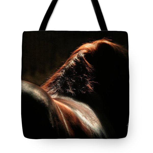 The Silhouette Tote Bag by Angel  Tarantella