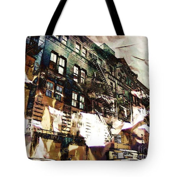 The Silver Factory / 231 East 47th Street Tote Bag by Elizabeth McTaggart