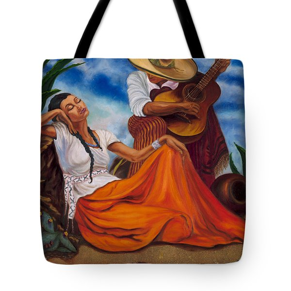The Singers Tote Bag by Maria Gibbs