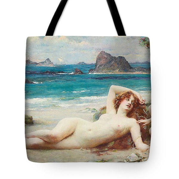 The Sirens Tote Bag by Henrietta Rae