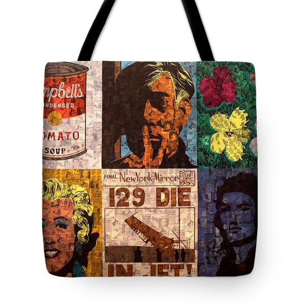 The Six Warhol's Tote Bag