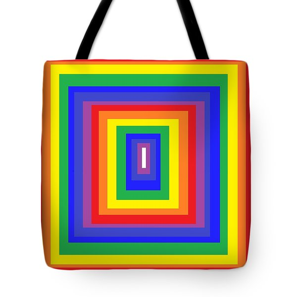 Tote Bag featuring the digital art The Sixties by Cletis Stump