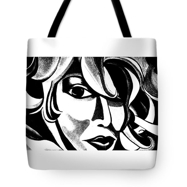 The Sketched Ai Tote Bag