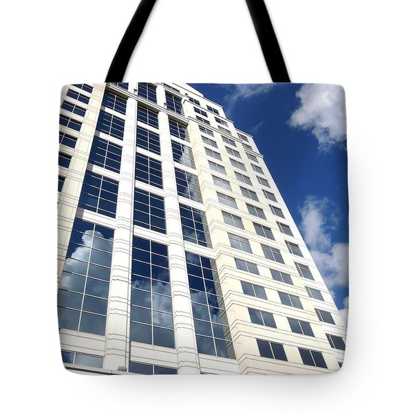 Tote Bag featuring the photograph The Sky's The Limit by Jim Whalen