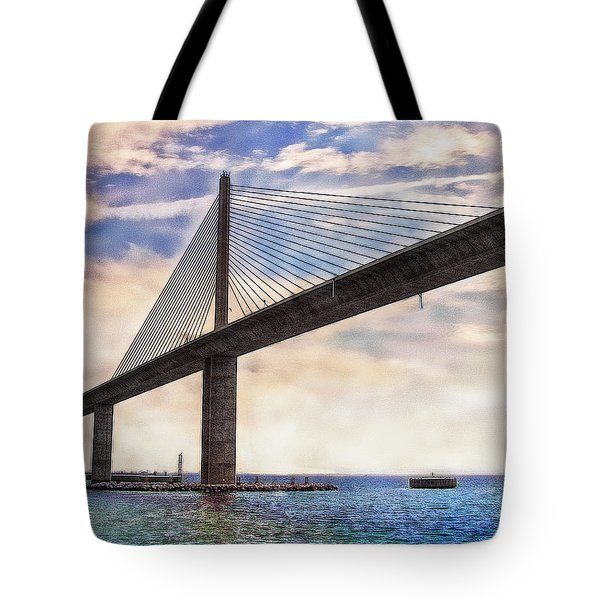 The Skyway Tote Bag by Hanny Heim