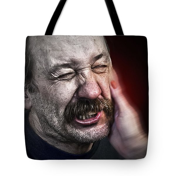 The Slap Tote Bag by Rick Mosher