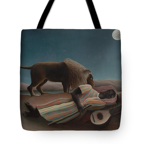 The Sleeping Gypsy Tote Bag