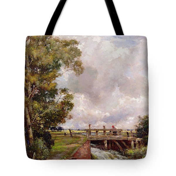 The Sluice Tote Bag