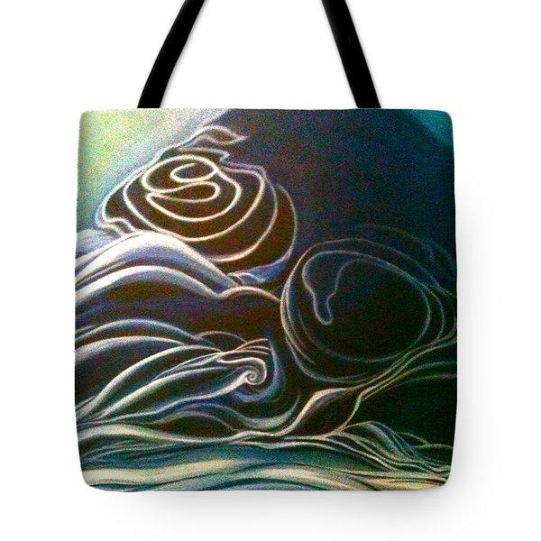 The Slumber-detailed Tote Bag by Juliann Sweet