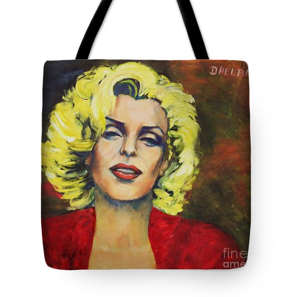The Smile       Tote Bag by Dagmar Helbig