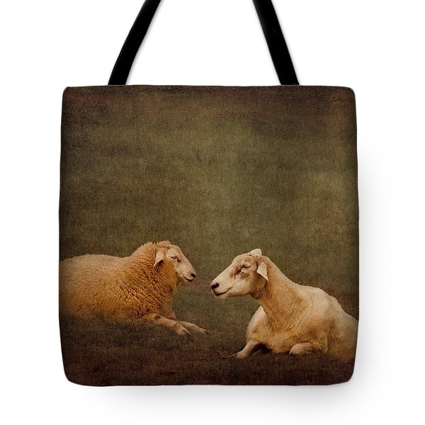 The Smiling Sheeps Tote Bag