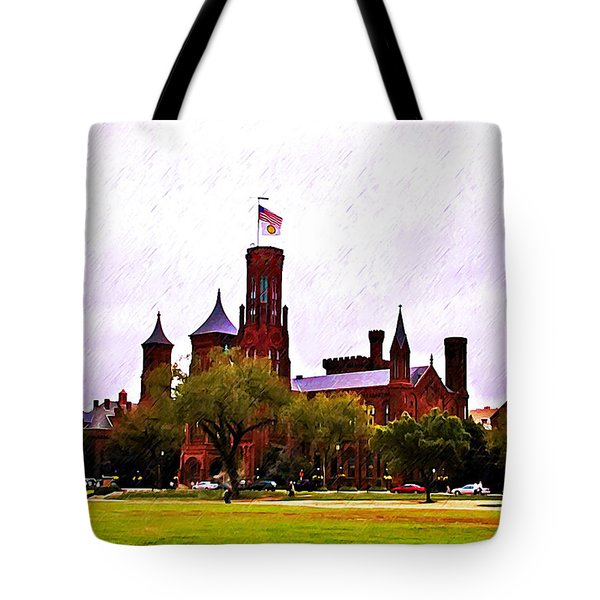 The Smithsonian Tote Bag by Bill Cannon