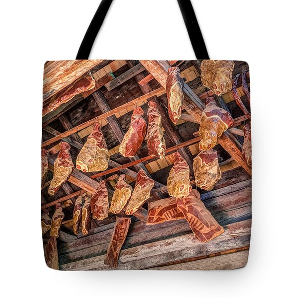 The Smokehouse Tote Bag by Rob Sellers