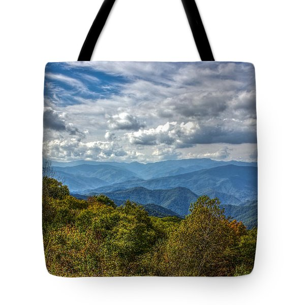The Smokys Tote Bag by Rob Sellers