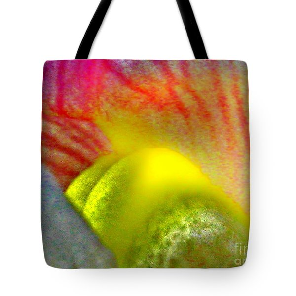 Tote Bag featuring the photograph The Snapdragon - Flower by Susan Carella