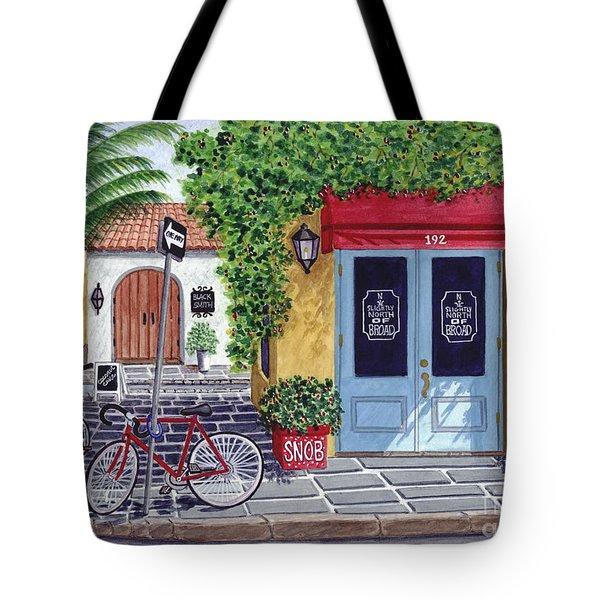 The Snob Restaurant Tote Bag
