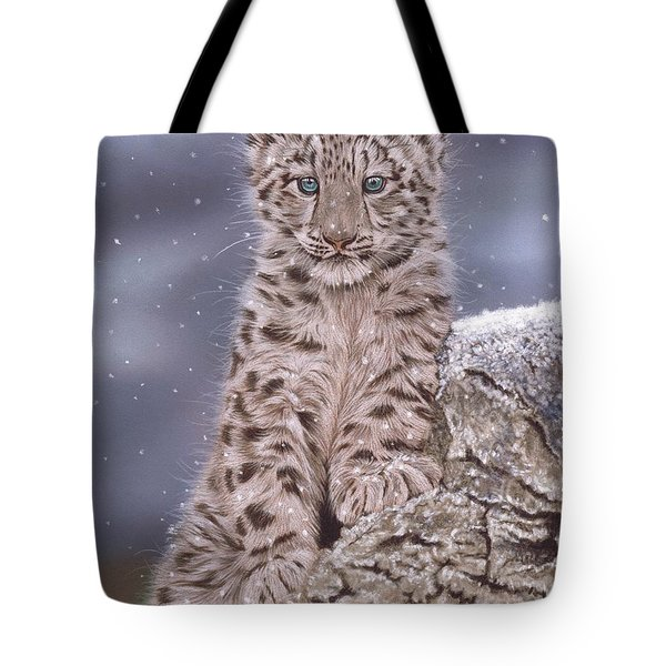 The Snow Prince Tote Bag