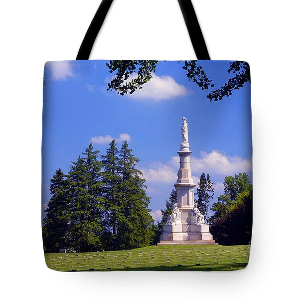 The Soldiers Monument Tote Bag