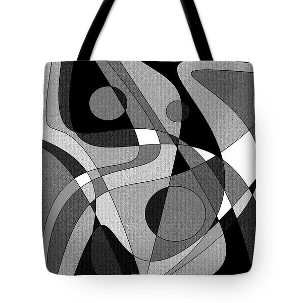 The Soloist - Black And White Tote Bag
