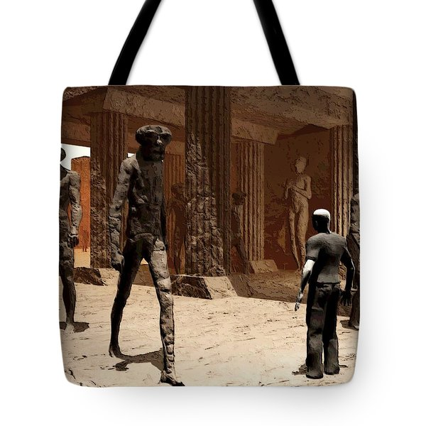 The Somnambulist In The Underworld Tote Bag
