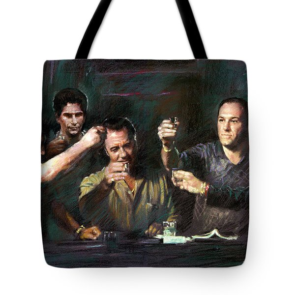 The Sopranos Tote Bag