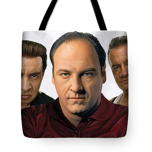 The Sopranos  Artwork 2 Tote Bag